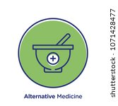 medicine related offset style... | Shutterstock .eps vector #1071428477