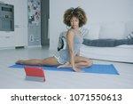 beautiful confident woman in...   Shutterstock . vector #1071550613