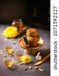 mid autumn festival mooncake... | Shutterstock . vector #1071592127