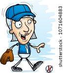a cartoon illustration of a... | Shutterstock .eps vector #1071604883
