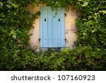 Facade Of A Country House In A...