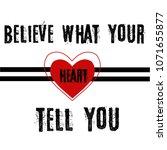 Red Love Heart Line Art Vector