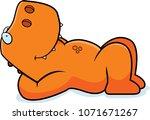 a cartoon illustration of a... | Shutterstock .eps vector #1071671267