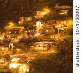 favelas neighborhoods bogota... | Shutterstock . vector #1071730007