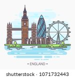 sign or poster  banner with... | Shutterstock .eps vector #1071732443
