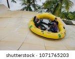 malacca  malaysia   18 april... | Shutterstock . vector #1071765203