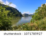 landscape in the danube gorges. ... | Shutterstock . vector #1071785927