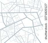 fmap of the city  locality.... | Shutterstock .eps vector #1071820127
