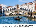 rialto bridge in venice. italy | Shutterstock . vector #1071826073