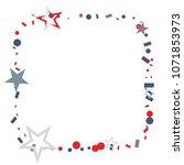 square frame or border... | Shutterstock .eps vector #1071853973
