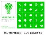 set of 25 universal solid...   Shutterstock .eps vector #1071868553