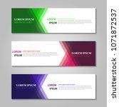 vector abstract design web... | Shutterstock .eps vector #1071872537