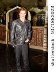 Small photo of MADRID, SPAIN - MAR 28, 2018: Robert Pattinson as Edward Cullen of the Twilight saga, Cinema Area, Wax Museum in Madrid