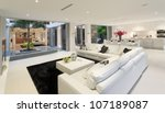 superb house interior | Shutterstock . vector #107189087
