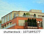 modern and new apartment... | Shutterstock . vector #1071895277