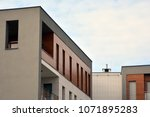 modern and new apartment... | Shutterstock . vector #1071895283