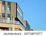 modern and new apartment... | Shutterstock . vector #1071897077