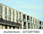 modern and new apartment... | Shutterstock . vector #1071897083