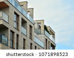 modern and new apartment... | Shutterstock . vector #1071898523