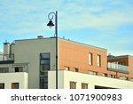 modern apartment building | Shutterstock . vector #1071900983