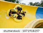 malacca  malaysia   18 april... | Shutterstock . vector #1071918257