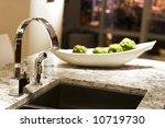 ultra modern kitchen window...   Shutterstock . vector #10719730