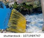Spillway from a dam, Dartmouth Massachusetts