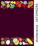 vector illustration of healthy...   Shutterstock .eps vector #1071990293