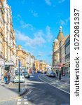 leicester  united kingdom ... | Shutterstock . vector #1072081337