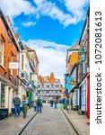 lincoln  united kingdom  april... | Shutterstock . vector #1072081613