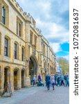 lincoln  united kingdom  april... | Shutterstock . vector #1072081637