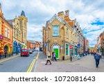lincoln  united kingdom  april... | Shutterstock . vector #1072081643