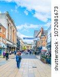 lincoln  united kingdom  april... | Shutterstock . vector #1072081673