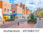 leicester  united kingdom ... | Shutterstock . vector #1072081727