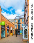 leicester  united kingdom ... | Shutterstock . vector #1072081733