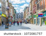 leicester  united kingdom ... | Shutterstock . vector #1072081757