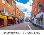 leicester  united kingdom ... | Shutterstock . vector #1072081787
