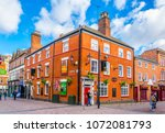 leicester  united kingdom ... | Shutterstock . vector #1072081793
