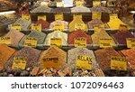spice market in turkey.   Shutterstock . vector #1072096463