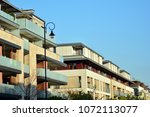 modern and new apartment... | Shutterstock . vector #1072113077