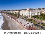 nice  march  12 2018  france ... | Shutterstock . vector #1072134257