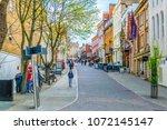 nottingham  united kingdom ... | Shutterstock . vector #1072145147