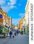 lincoln  united kingdom  april... | Shutterstock . vector #1072145267
