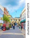 lincoln  united kingdom  april... | Shutterstock . vector #1072145273