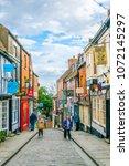 lincoln  united kingdom  april... | Shutterstock . vector #1072145297