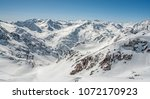 view of the alpine skiing... | Shutterstock . vector #1072170923