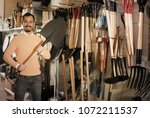 positive guy deciding on best... | Shutterstock . vector #1072211537