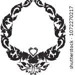 swirl doodle traditional thai...   Shutterstock .eps vector #1072270217
