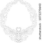 swirl doodle traditional thai...   Shutterstock .eps vector #1072270643