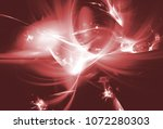 red smoke. color toned... | Shutterstock . vector #1072280303